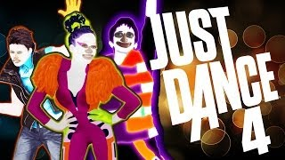 "Just Dance 4: ""Do the stanky leg!"" (Wii U)"