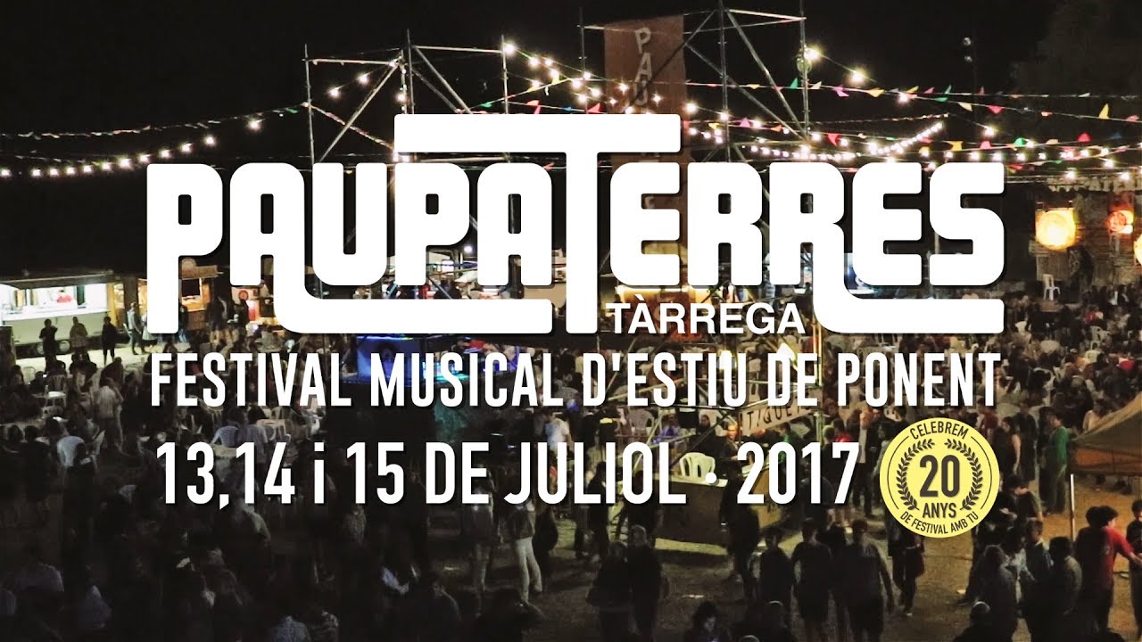 Arriba el XXè Festival Paupaterres!