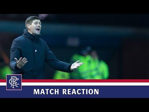 REACTION | Steven Gerrard | Kilmarnock 0-0 Rangers