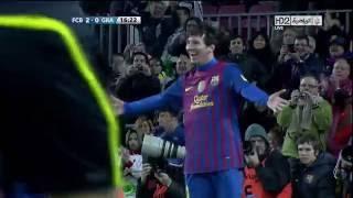 Lionel Messi Goal (2-0) vs Granada (Home) (La Liga) 11-12 HD 720p