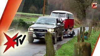 Mit dem Bulli T1 von Deutschland bis nach Peking: Die Joey Kelly-Challenge - Teil 1 | stern TV