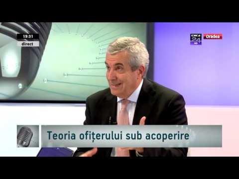 """Tariceanu, in emisiunea """"Vocile Bihorului"""", de la Digi24 Oradea"""