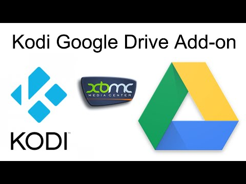 Kodi (XBMC) Google Drive Add-on