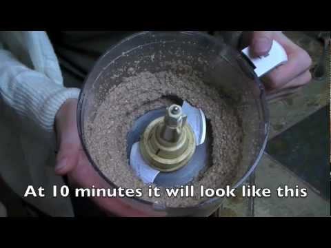 Homemade Sprouted Raw Almond Butter - Organic Recipes (Oil free & oil added)