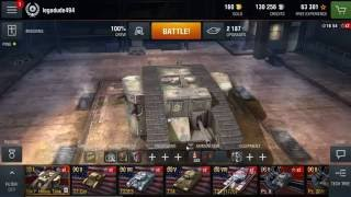MK I Heavy Tank garage review - World of Tanks Blitz