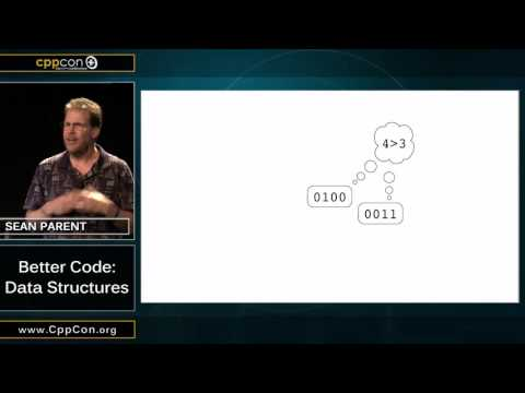 "CppCon 2015: Sean Parent ""Better Code: Data Structures"""