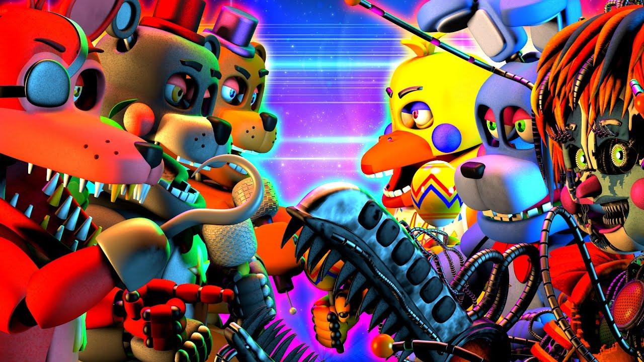 [SFM FNaF] Rockstar vs Rockstar OMG