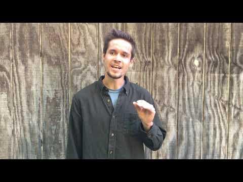 """Garrett Gagnon Audition Monologue """"The Weir"""""""
