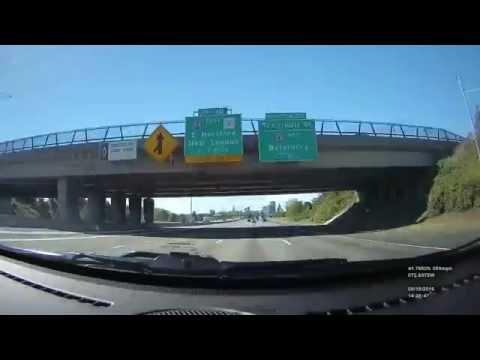 Time lapse drive - Springfield, MA to Clarion, PA