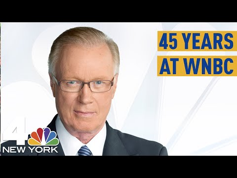 Chuck Scarborough Celebrates 45 Years at WNBC  NBC New York