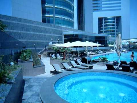 Jumeirah Emirates Tower Pool Area Dubai Youtube