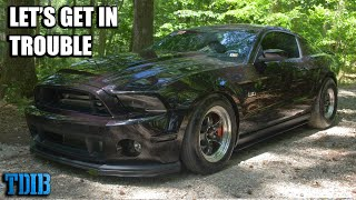 homepage tile video photo for SKETCHY 700HP TT Mustang Review! Taming the Wild Pony