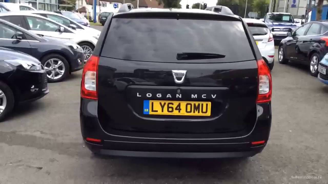 dacia logan mcv laureate dci black 2015 youtube. Black Bedroom Furniture Sets. Home Design Ideas