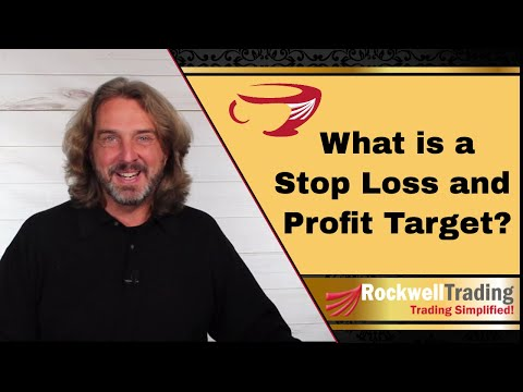 Stop Loss And Profit Target Explained – Here's why you should use it when trading