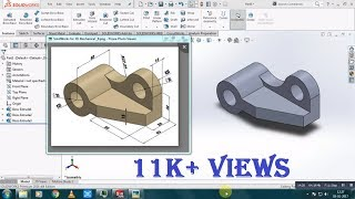 Simple Part Modeling Tutorial for Beginners | SolidWorks 2016 | (1)