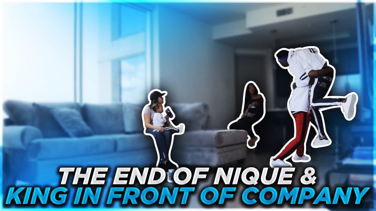 the-end-of-nique-and-king-in-front-of-company