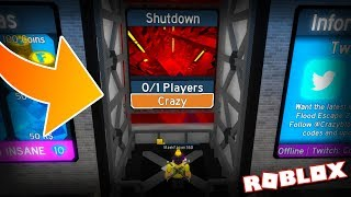CRAZY DIFFICULTY IS TAKING OVER MAP TEST... | Flood Escape 2 on Roblox #53