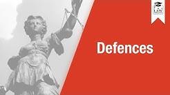 Criminal Law - Defences
