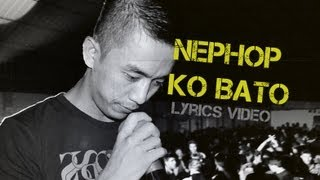 Laure - Nephop ko bato (Lyrics video)