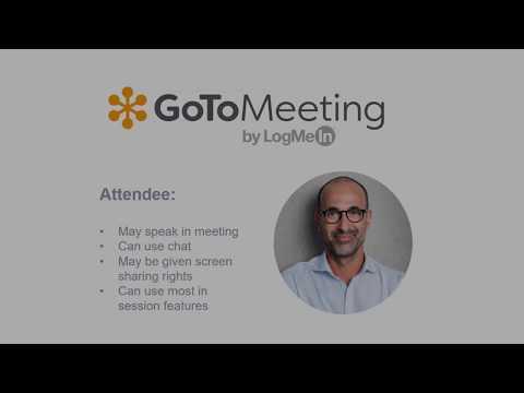 GoToMeeting Organizer Training - Part 1 - Scheduling