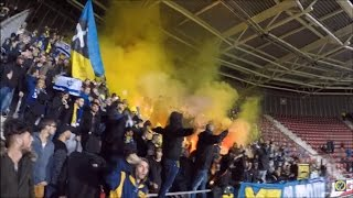 Maccabi & Ajax Ultras vs AZ Alkmaar 20.10.2016