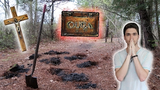 I BURIED THE OUIJA BOARD IN A CEMETERY! ITS ALL OVER!