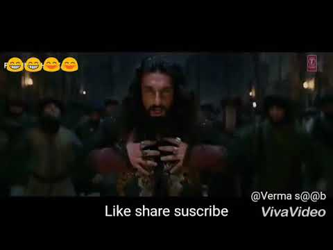 Padmavat movie ranveer funny dance