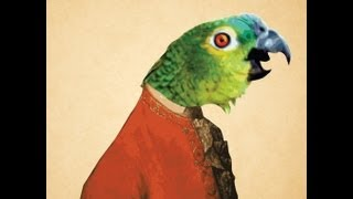 Parrot singing opera (original video)