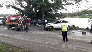 Kasavu accident vehicle retrieved from river