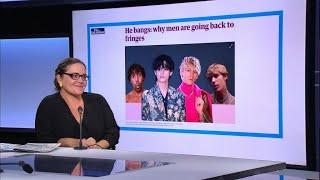 'He bangs' are back: Lockdown locks that are no longer fringe