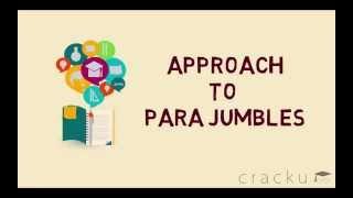 Approach To Para Jumbles