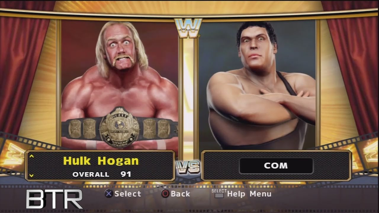 Wwe Legends Of Wrestlemania Character Select Screen Including Imported Svr 2009 Superstars Roster Youtube