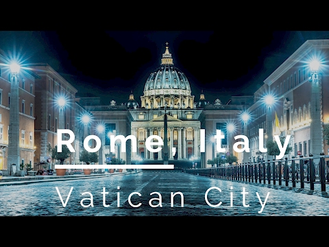 The Time We Traveled To Vatican City