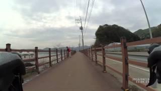 춘천라이딩(Korea north Han River)북한…