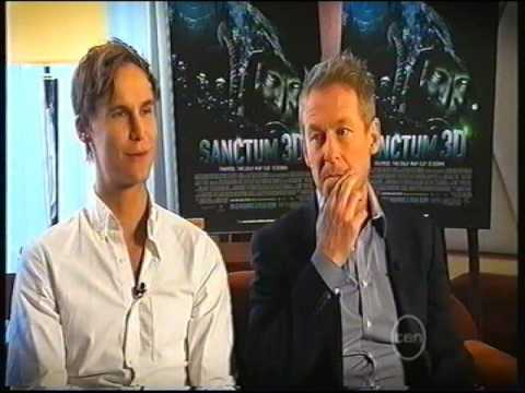 Richard Roxburgh, Rhys Wakefield  Sanctum Movie   Sean Lynch