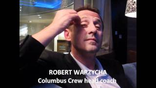 Robert Warzycha interview after 2010 US Open Cup Final 10062010