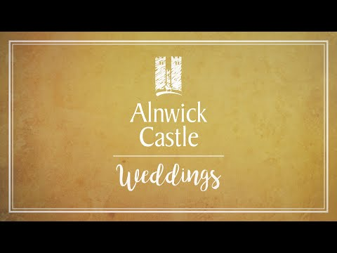 Weddings at Alnwick Castle