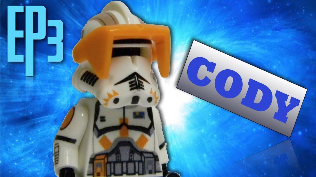 Custom Commander Cody Star Wars Clone Trooper Minifigure rex phase2 lego bricks