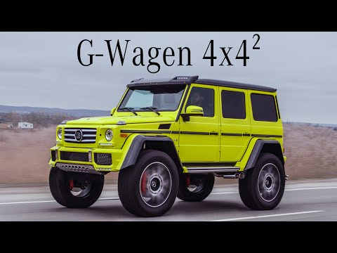 Mercedes G550 4x4 Squared Review - Germany's $300,000 Monster Truck