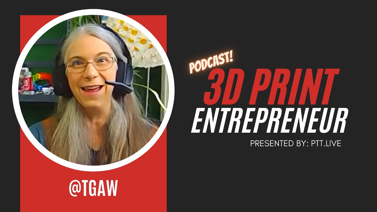 Sell 3D Prints on Etsy with TGAW (Vicky Somma)