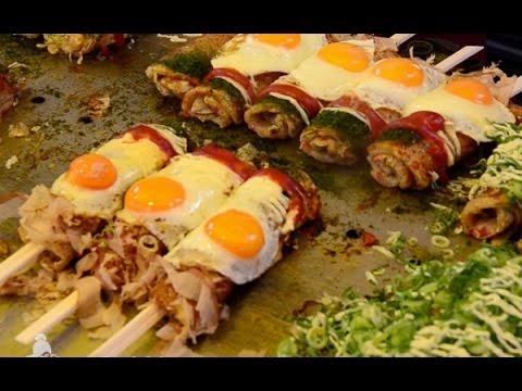 Street Food Japan - A Taste of Delicious Japanese Cuisine - Видео онлайн