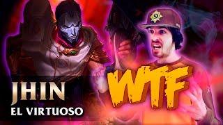 NUEVO CAMPEÓN JHIN   WTF IMPRESIONANTE !! ( League of Legends )