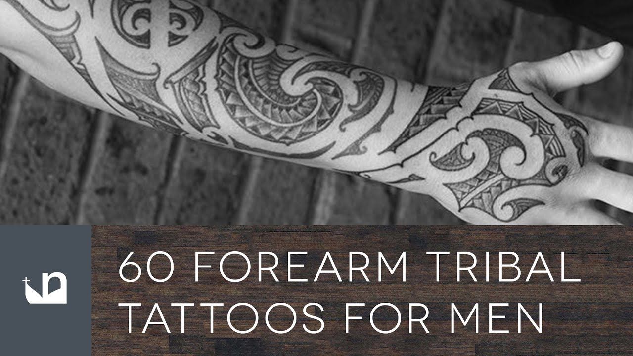 60 Tribal Forearm Tattoos For Men - YouTube