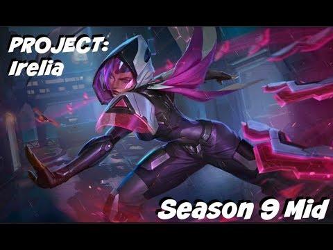 League of Legends PROJECT: Irelia Mid Gameplay