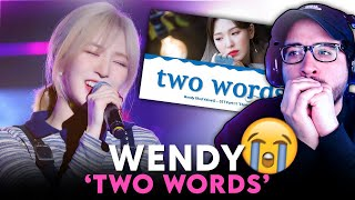 Download REVELUV's Reaction to RED VELVET 웬디 WENDY - 'Two Words' (OST Part.11 'Start Up')