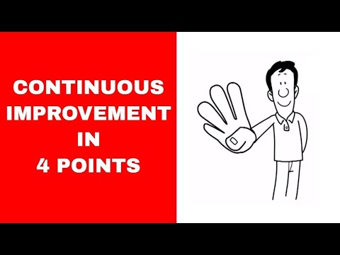 What is Continuous Improvement: 4 Points to Create the CI culture.