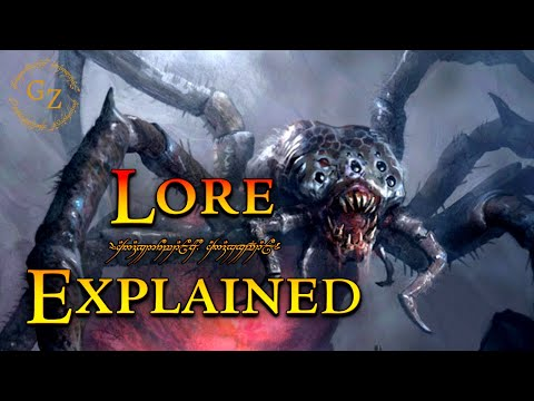 Shelob - Lord of the Rings Lore
