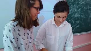 Видео урок по английскому языку Cooking (fruit salad)