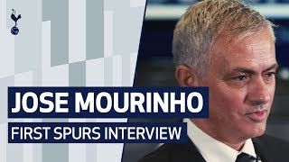 JOSE MOURINHO'S FIRST SPURS INTERVIEW