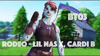 "Lil Nas X, Cardi B - Rodeo Fortnite Montage ""The Console GOAT!"""